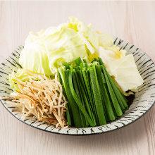 Vegetable assortment (extra)
