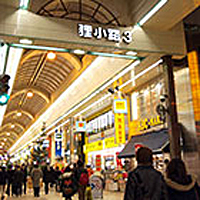 Tanuki-koji Shopping Street