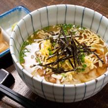鶏スープかけご飯