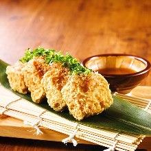 島豆腐の厚揚げ