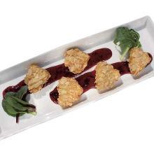 カマンベールチーズのアーモンドフライ