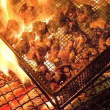 地頭鶏のもも焼き