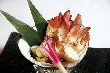ホッキ貝焼き