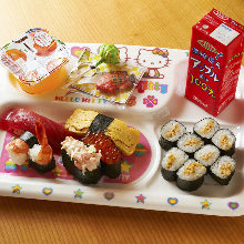 にぎり寿司盛り合わせ5種
