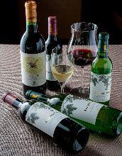 丹波ワイン アッサンブラージュ(赤、白)