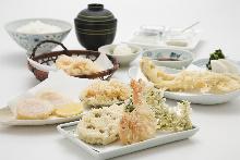 天ぷら盛り合わせ7種