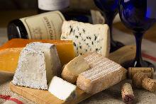 チーズ盛り合わせ5種