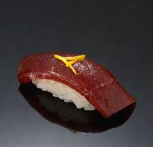 漬けマグロ(寿司)