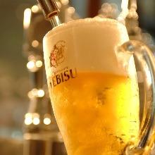 ヱビス生ビール (麦芽100%)
