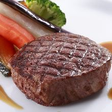 牛ヒレ肉のグリル