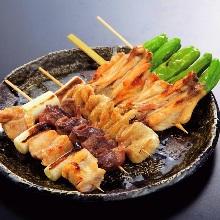 串焼き盛り合わせ5種