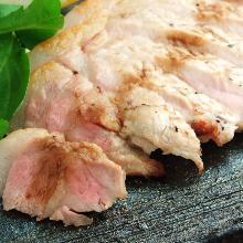 猪のステーキ