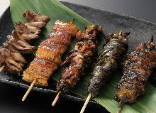 魚の串焼き