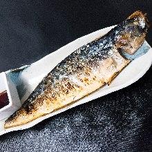 トロ鯖塩焼き