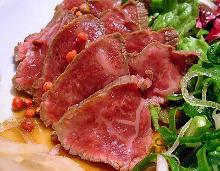 牛肉のたたき