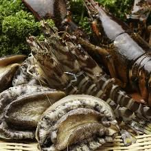 魚の鉄板焼き