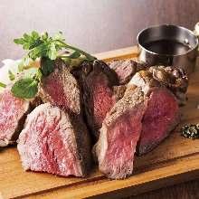 アメリカ産牛ハラミの一口カットステーキ