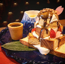 JAPAN HONEY TOAST ~MT.FUJI PLATE~