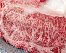 肉の炭火焼