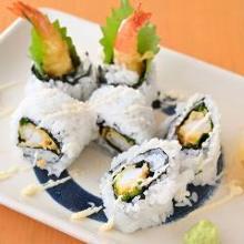 海老フライの巻き寿司