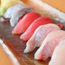 にぎり寿司盛り合わせ8種