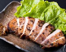 豚のロースステーキ