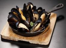 ムール貝のスパイス蒸し