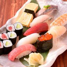 上にぎり寿司盛り合わせ