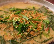 もつ鍋(味噌味)