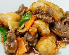 牛肉のスタミナ炒め