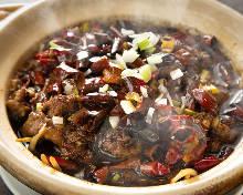 牛肉の豆板醤煮込み