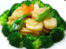 帆立と野菜炒め