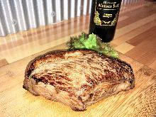 牛ランプ・イチボのステーキ