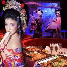 GEISHA Show & Italian Dinner