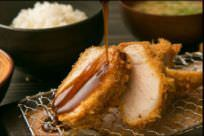 黒豚ロースカツ定食