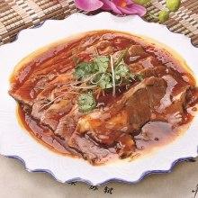 薄切ラム肉の炒め煮