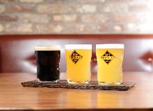 クラフトビール 3種のみ比べ
