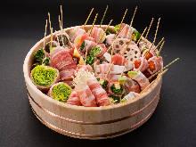野菜串焼き盛り合わせ