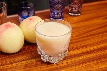清水白桃のファジーネーブル