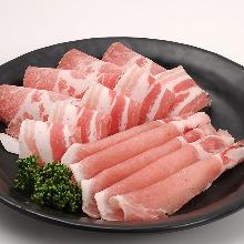 豚肉盛り合わせ