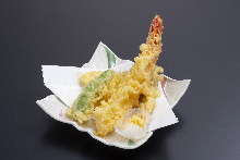 天ぷら盛り合わせ3種