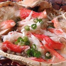 カニ味噌甲羅焼