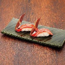 ズワイガニ(寿司)