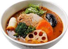 豚角煮のスープカレー