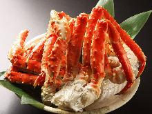 茹でタラバ蟹