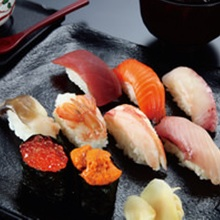 にぎり寿司盛り合わせ10種