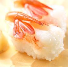 ボタン海老(寿司)