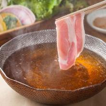 【60種類全て食べ放題】大麦三元豚コース