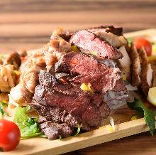 肉料理盛り合わせ