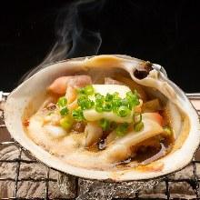 ホッキ貝(刺身)